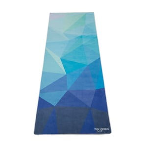 Mata do jogi Yoga Design Lab Hot Geo Blue