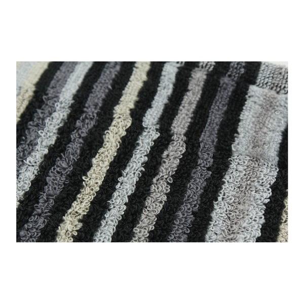 Zestaw 2 ręczników Collette Antracit, 70x140 cm