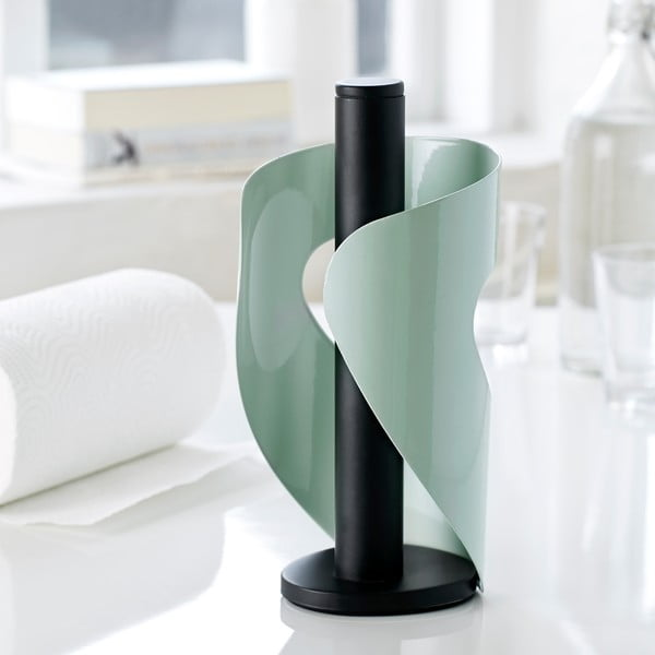 Stojak na ręcznki kuchenne Steel Function Pisa, light green