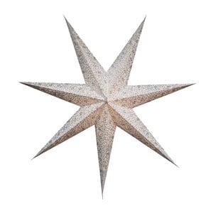 Wisząca   ozdoba świetlna, gwiazda Best Season Five Snow Silver, 150 cm