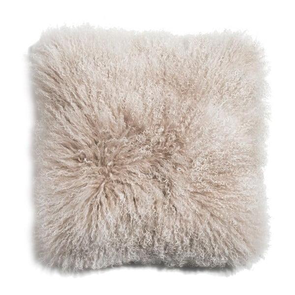 Poduszka ze skóry owcy tybetańskiej Arctic Sunrise