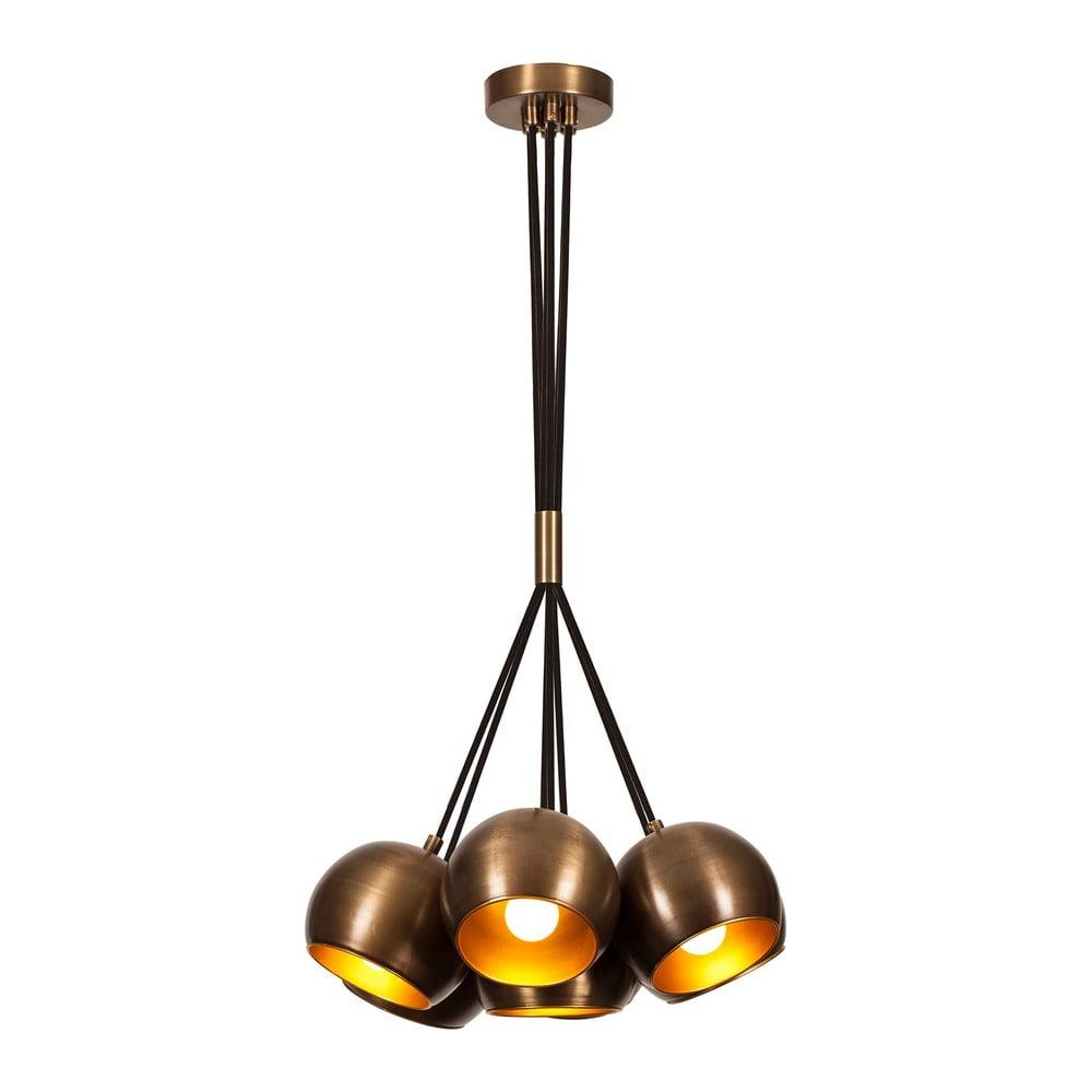 Lampa wisząca w kolorze brązu Opviq lights Sivani
