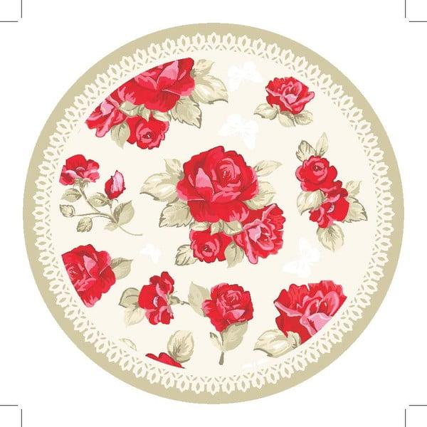 Zestaw 2 mat stołowych Poppies