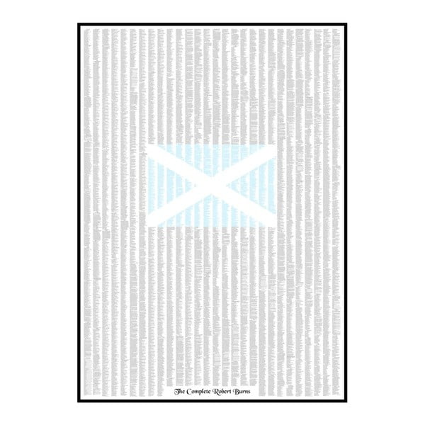 Plakat Robert Burns, 84,1x118,9 cm