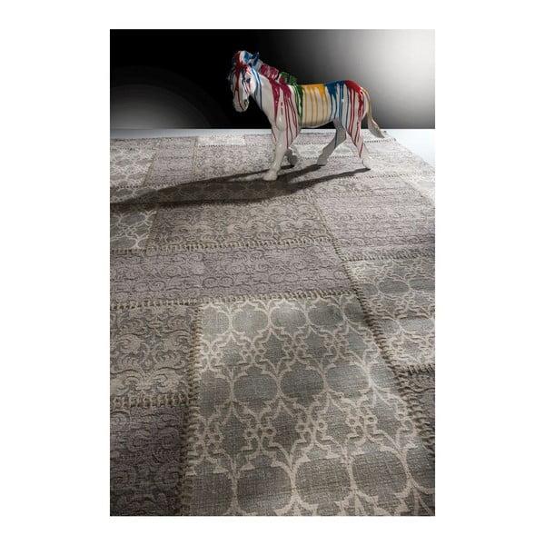 Dywan Patchwork Light Grey, 170x240 cm