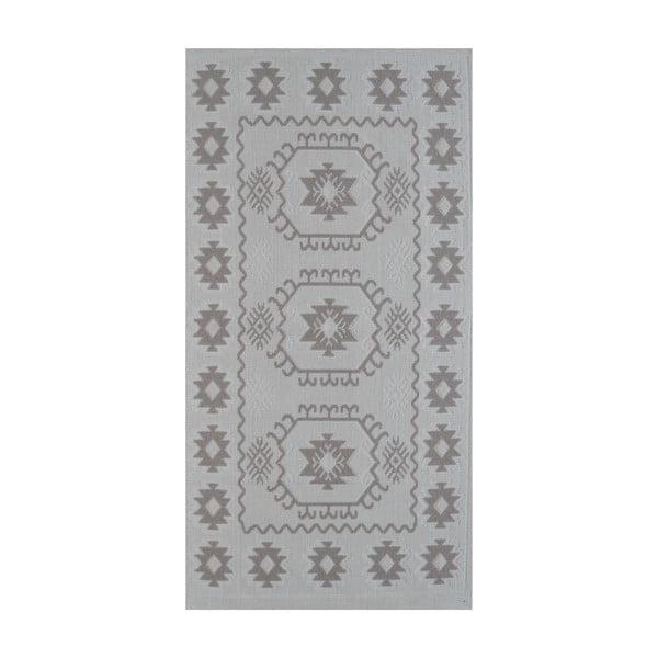 Beżowy wytrzymały dywan Dahlia, 80x200 cm
