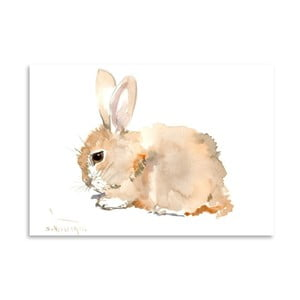 Autorski plakat Bunny Suren Nersisyan, 30x21cm