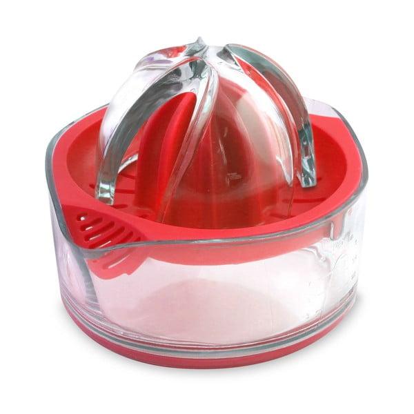 Czerwona ręczna wyciskarka do cytrusów Vialli Design Livio
