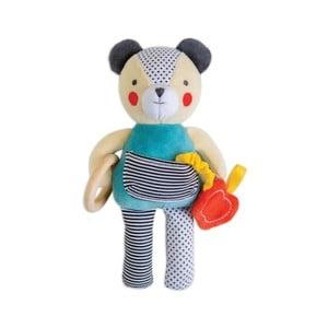 Zabawka stymulująca rozwój dziecka Petit collage Bear