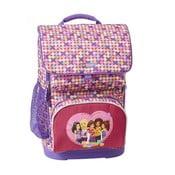 Plecak szkolny z etui LEGO® Friends Confetti Optimo