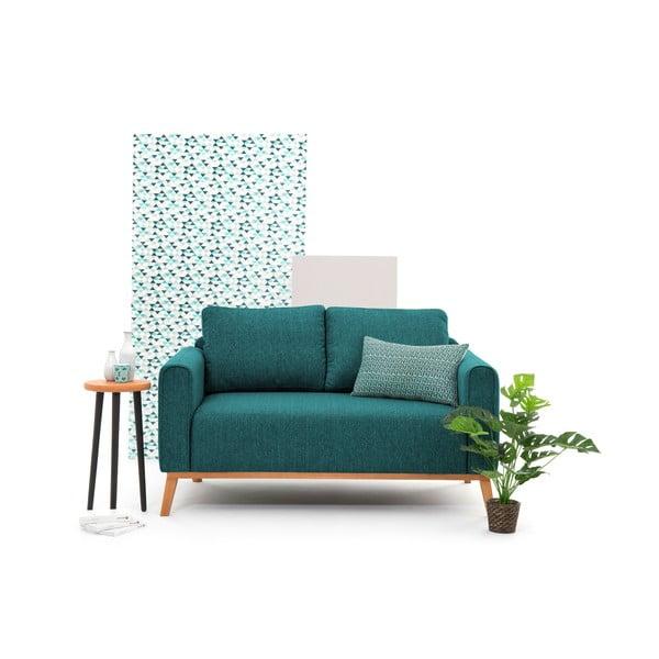 Turkusowa sofa dwuosobowa VIVONITA Milton