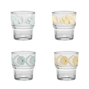 Zestaw 4 szklanek Mr & Mrs Clynk Moon
