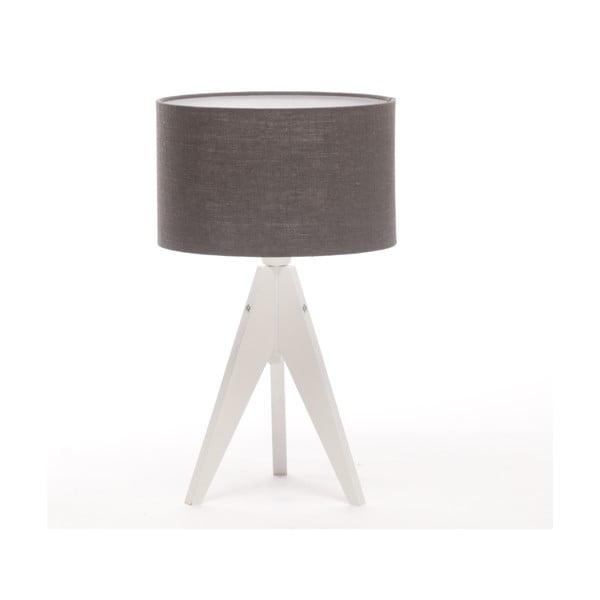 Lampa stołowa Artist Cylinder Dark Grey/White