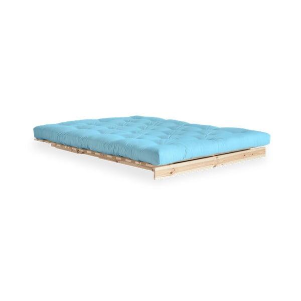 Sofa rozkładana Karup Design Roots Raw/Light Blue