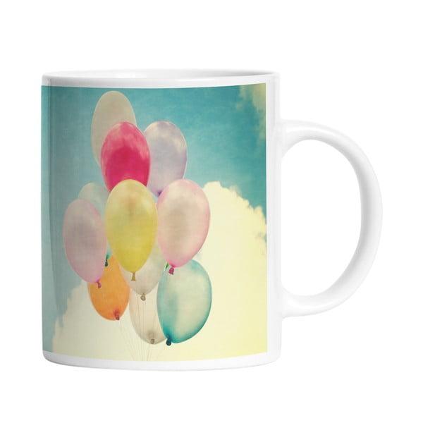 Ceramiczny kubek Balloons in the Sky, 330 ml