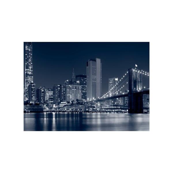 Obraz Wielkie miasto nocą, 100x70 cm