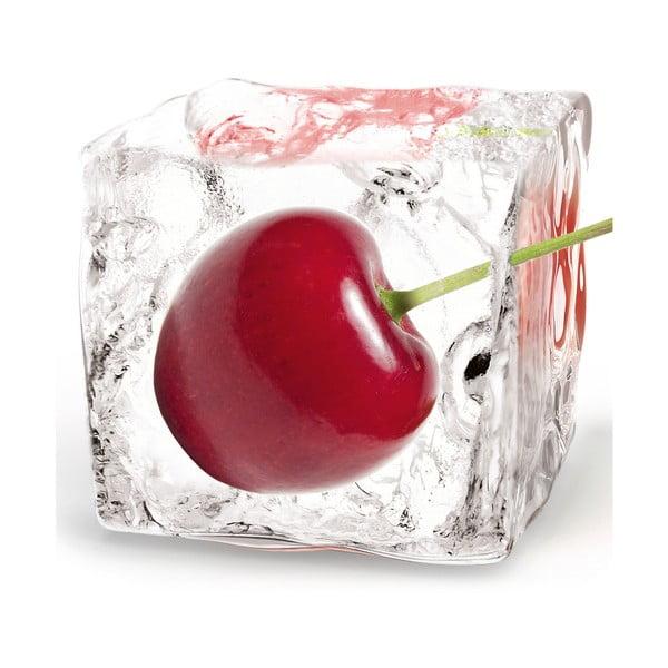 Szklany obraz Cherry Cube, 20x20 cm
