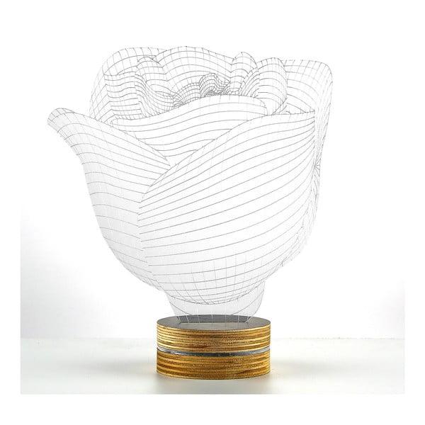 Lampa 3D stołowa Rose