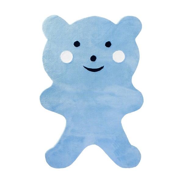 Dywan dziecięcy Mavis Teddy Bear Blue, 100x150 cm