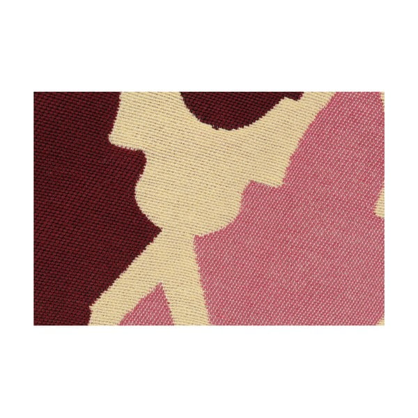 Czerwony dywan Ya Rugs Baklava Claret, 80x150cm