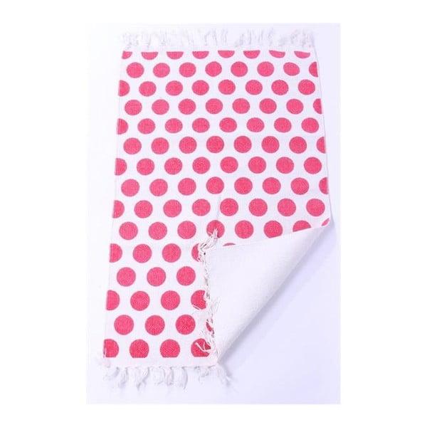 Dywan La Finesse Dots Pink, 60x90 cm