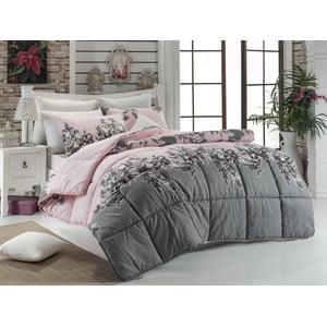 Narzuta pikowana na łóżko dwuosobowe Rodez Powder, 195x215 cm