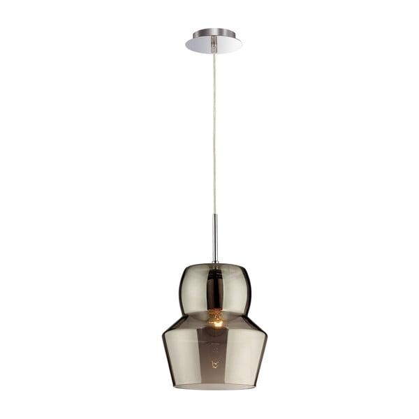 Lampa wisząca Crido Glass Gray, 22 cm