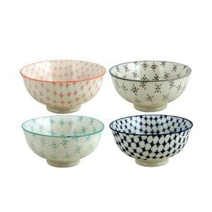 Zestaw misek ceramicznych Olivia, 4 szt.