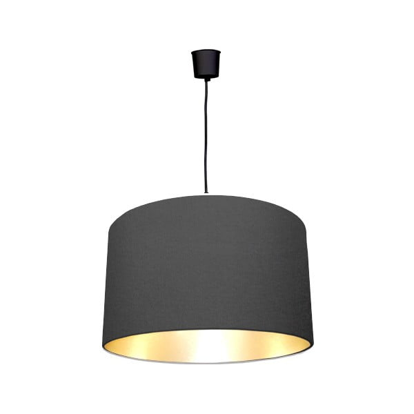 Lampa sufitowa Gold Inside One Black