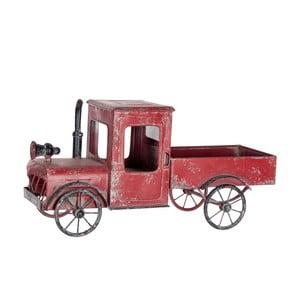 Dekoracja Car Antique, czerwona