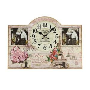 Zegar z ramką na zdjęcie, 45x32 cm