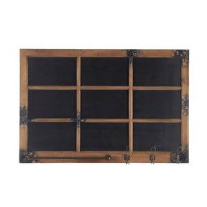 Wieszak z tablicą Blackboard, 115x78 cm