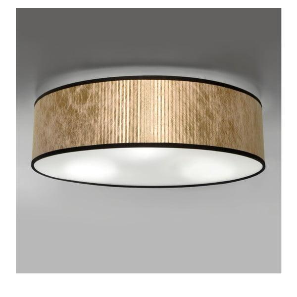 Lampa sufitowa w kolorze miedzi Bulb Attack Tres, Ø 40 cm