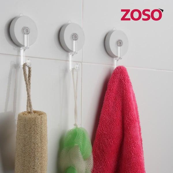 Zestaw dwóch haczyków z przyssawką ZOSO Regular