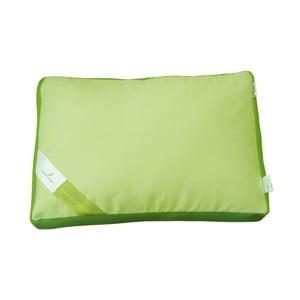 Zielona poduszka z pianką termoelastyczną Green Future Aero, 50x60 cm