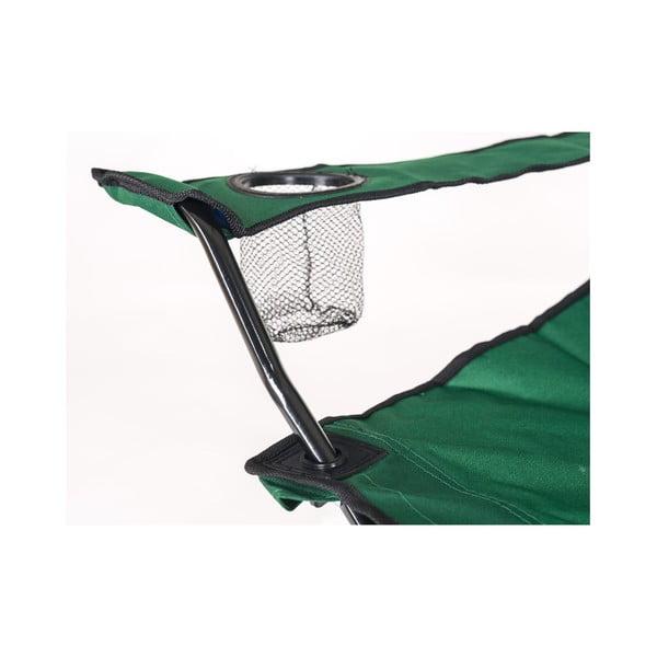 Krzesło wędkarskie Fish, zielone