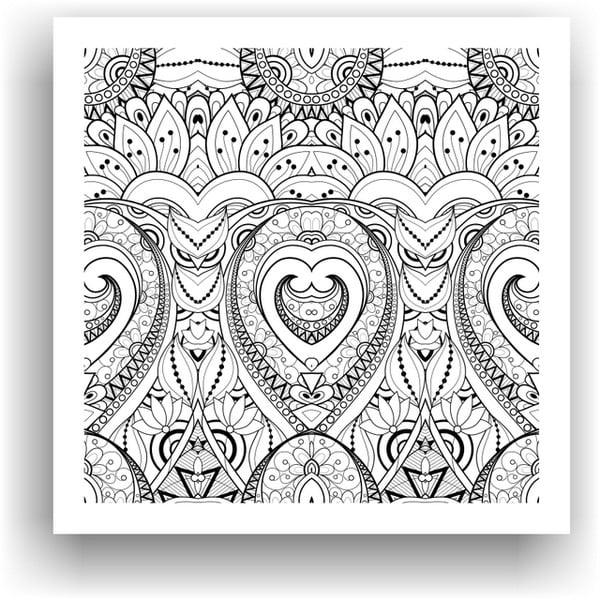 Obraz do kolorowania 72, 50x50 cm