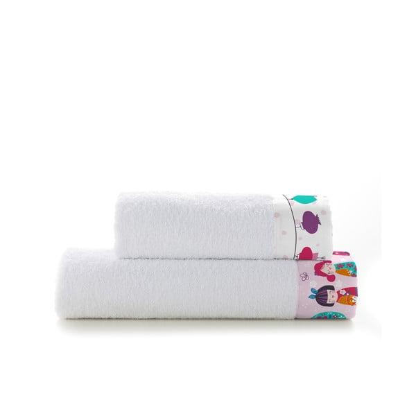Zestaw 2 ręczników Cherry Blossom, 50x100 i 70x140 cm
