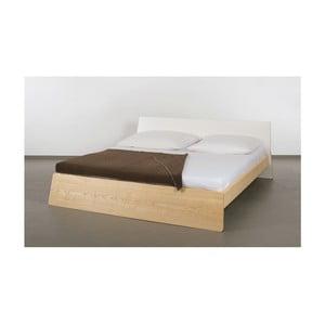 Łóżko z drewna jesionowego Ellenberger design Private Space,160x200cm