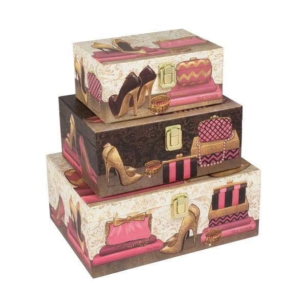 Zestaw 3 pudełek Dull