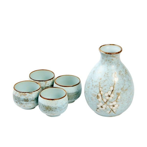 Porcelanowy zestaw do sake Soshun