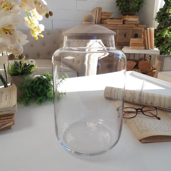 Pojemnik z przykrywką Glass Natural Living