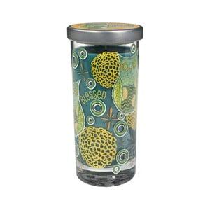 Świeczka zapachowa Glass Bridgewater Candle, róża