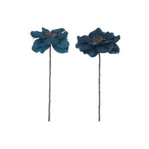 Zestaw 2 sztucznych kwiatów Anemone, wys. 40 cm
