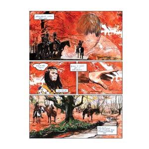 """Plakat autorski Toy Box """"Raz Indianie odkryli drogę"""", 60x45 cm"""