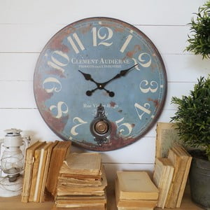 Zegar ścienny Orchidea Clement