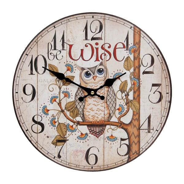 Zegar ścienny Clayre & Eef Wise