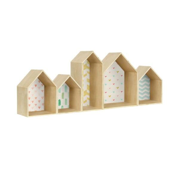 Półka Houses Geometric