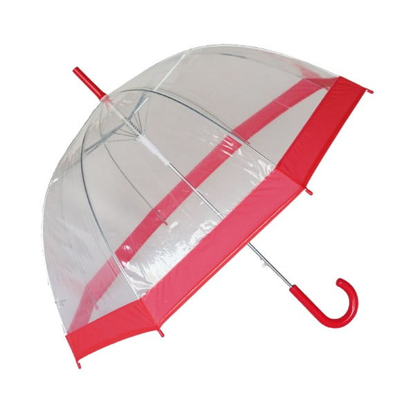 Parasol Red Transparent