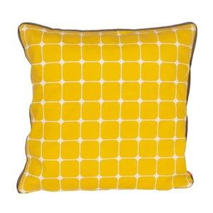 Poduszka Tiles Yellow, 45x45 cm